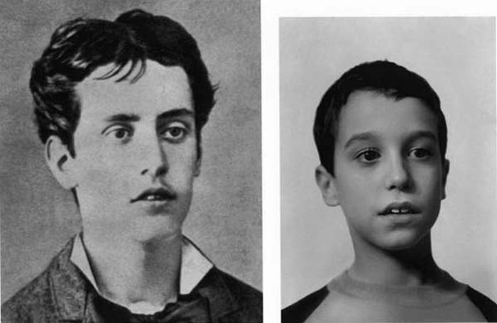 vľavo mladý Puccini, vpravo Giacomo Manfredi, foto: Paolo Benvenuti