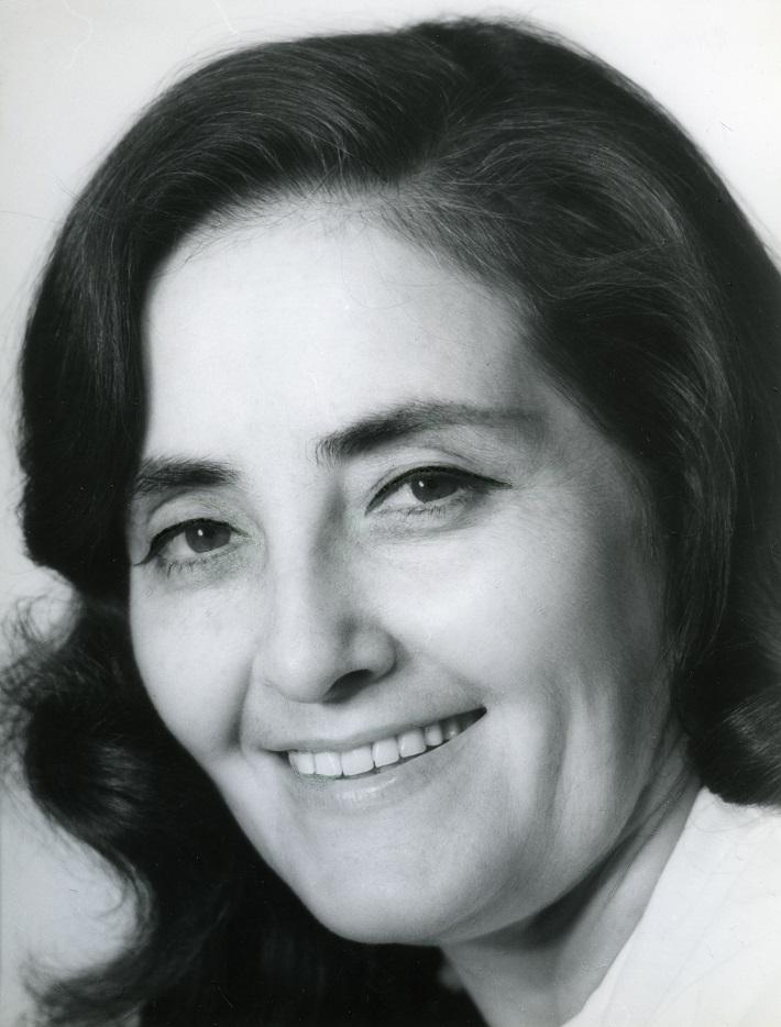 Anna Martvoňová, (1922 – 1990), foto: M. Robinsonová (Archív SND)