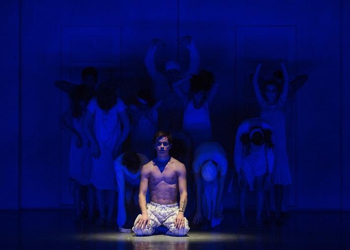 C. Davis, D. de Andrade: Nižinskij - Boh tanca, Balet SND, 2015, Igor Leushin (Nižinskij), foto: Peter Brenkus