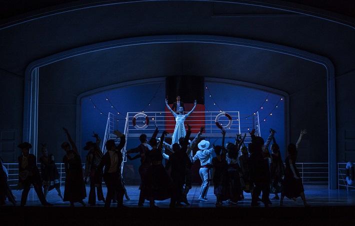 C. Davis, D. de Andrade: Nižinskij - Boh tanca, Balet SND, 2015, Scéna z 3. dejstva, foto: Peter Brenkus