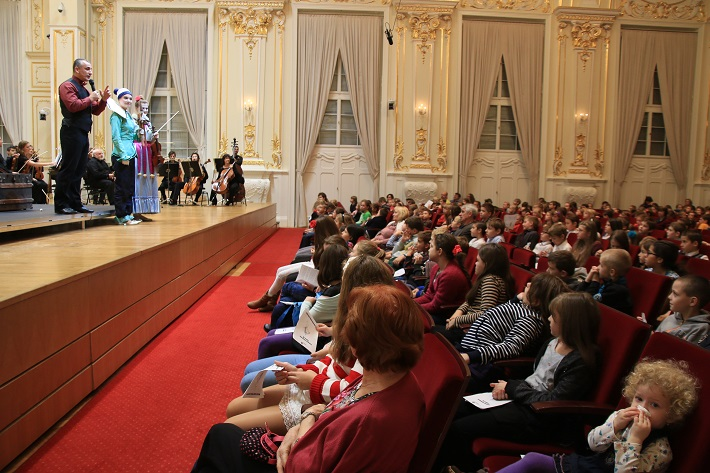 Hudobná akadémia Slovenskej filharmónie, 2015, Bartók a Drevený princ, foto: Martin Gašparovič