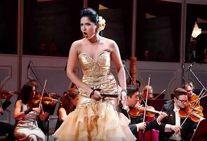 Judita Nagyová ako Carmen na Plese opery v Norimbergu, foto: súkromný archív JN