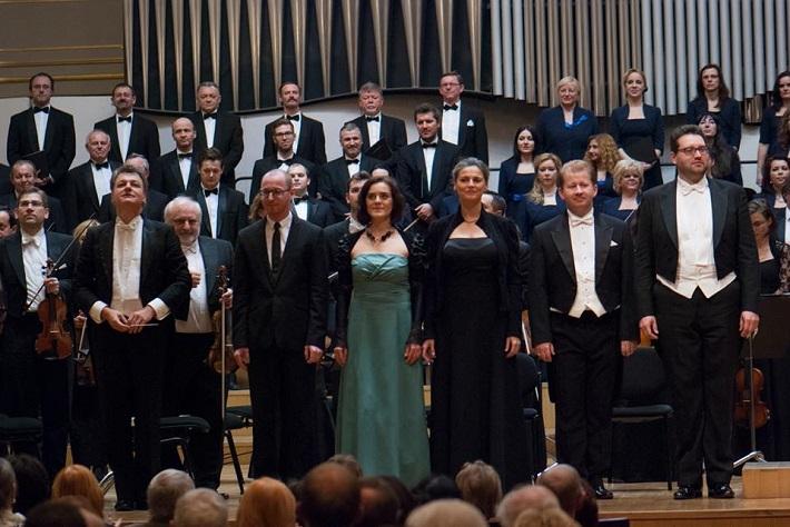 Koncert v Slovenskej filharmónii, 2015, E. Salmieri, J. Chabroň, M. Masaryková, P. Noskaiová, J. Gráf, T. Šelc, foto: Alexander Trizuljak