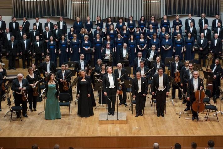 Koncert v Slovenskej filharmónii, 2015, M. Masaryková, P. Noskaiová, E. Salmieri, J. Gráf, T. Šelc, foto: Alexander Trizuljak