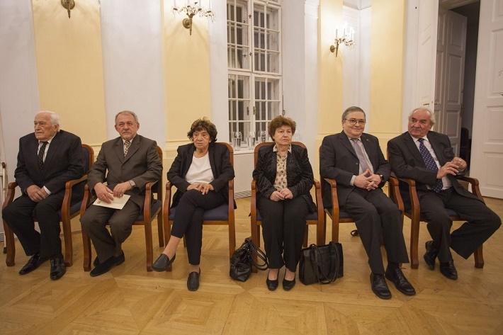 Peter Pellegrini ocenil šesť osobností za rozvoj kultúry a vzdelávania, 2015, foto: internet