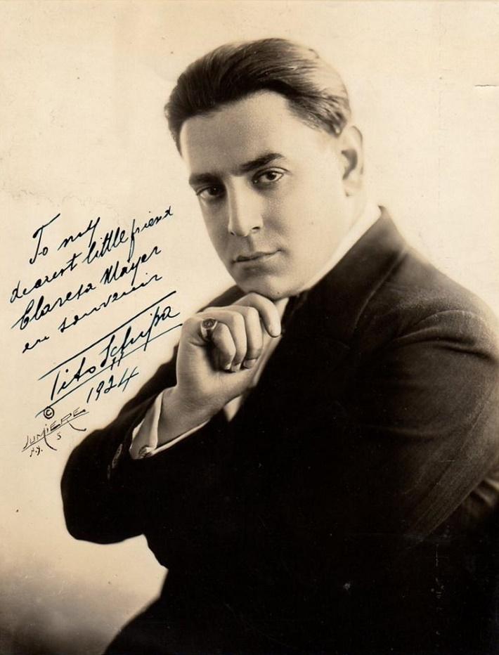 Tito Schipa, (1888 - 1965)