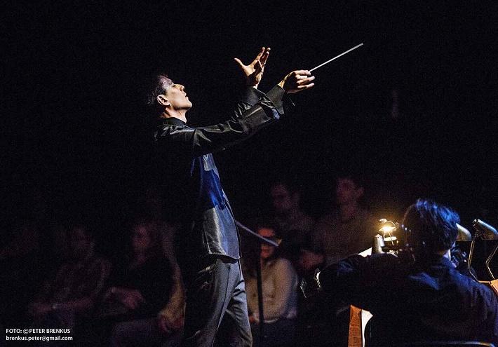 Toshio Hosokawa: Havran, medzinárodný festival súčasnej hudby Melos – Étos 2015, Ivan Buffa a Quasars Ensemble, foto: Peter Brenkus