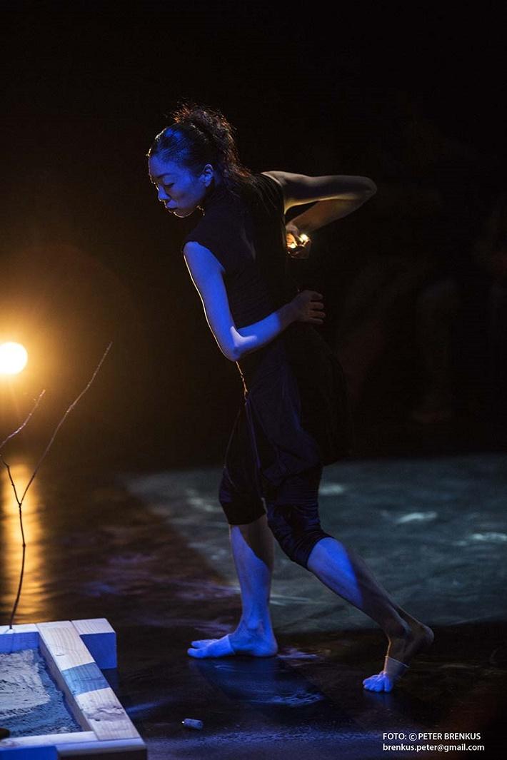 Toshio Hosokawa: Havran, medzinárodný festival súčasnej hudby Melos – Étos 2015, Reona Sato, foto: Peter Brenkus