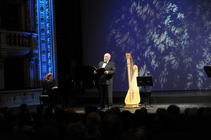 Voci da camera, Opera SND, 2015, Jana Nagy-Juhasz, Peter Mikuláš, foto: Alena Klenková/SND