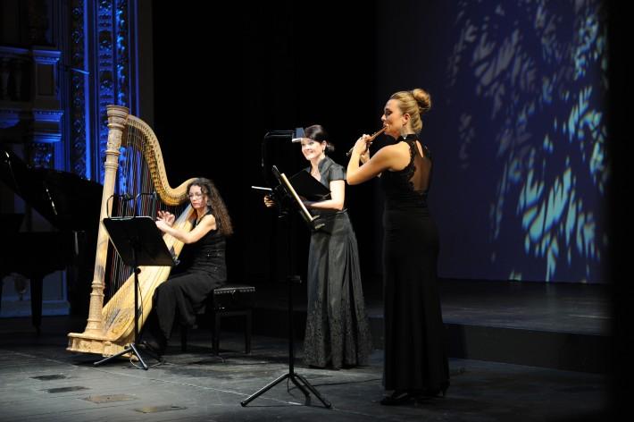 Voci da camera, Opera SND, 2015, Katarína Turnerová, Ľubica Vargicová, Jana Gazdíková, foto: Alena Klenková/SND