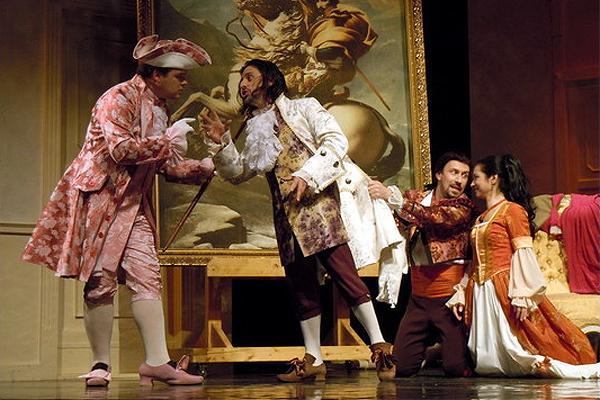 W. A. Mozart: Figarova svadba, Opera ŠD Košice, foto: ŠDKE