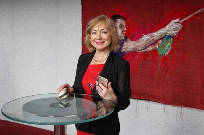 Z príprav nominácií Krištáľového krídla za rok 2015, Mária Vaškovičová, konateľka a správkyňa Nadácie Krištáľové krídlo, foto: Krištáľové krídlo