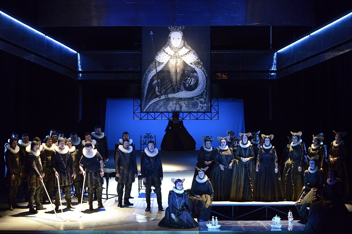 G. Donizetti: Roberto Devereux, NDM Ostrava, 2015, Zbor opery NDM, foto: Martin Popelář
