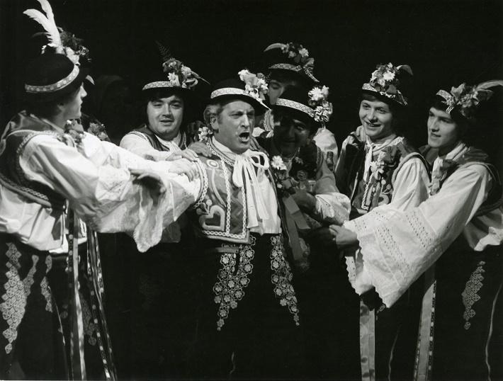 L. Janáček: Jej pastorkyňa, ŠD Košice, 1977, Július Regec (Števa Buryja), foto: Archív DÚ