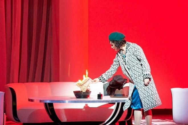 Leoš Janáček: Vec Makropulos, Viedenská štátna opera, 2015, Margarita Gritskova (Krista), foto: Michael Pöhn