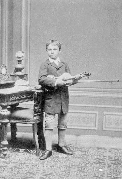 Oskar Nedbal ako 11-ročný