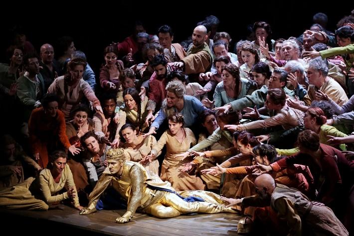 Skúška na Johanku z Arku, foto: Teatro alla Scala