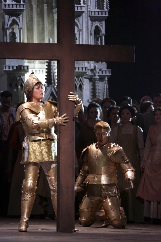 """Skúška na Johanku z Arku v Teatro alla Scala, foto: súkromný archív """"Anna Netrebko Group"""""""