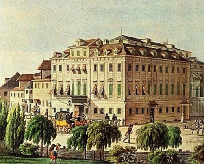Theater an der Wien, dobová kresba