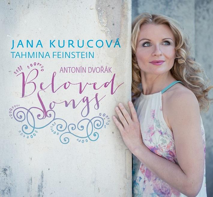 Antonín Dvořák Beloved Songs - Jana Kurucová, obal CD