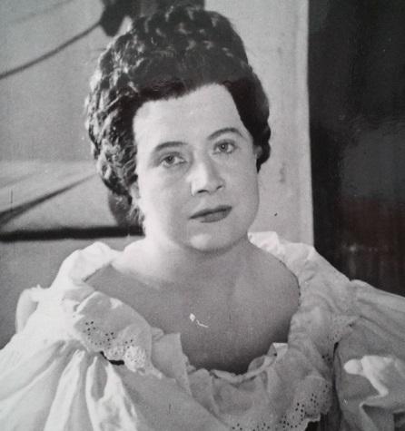 Božena Suchánková, (1923 – 2006), foto: Archív DÚ