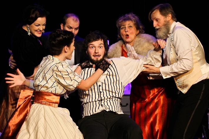 Franz Lehár: Gróf z Luxemburgu, Teatro Colorato, 2016, foto: Tamara Eliášová