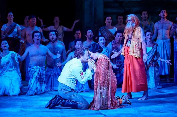 G. Bizet: Lovci perál, Opera v Sydney, 2016, Pavol Bršlík (Nadir), Jekaterina Siurina (Leila)