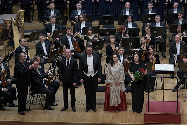 Koncert Slovenskej filharmónie, 2016, F. Ventura, J. Chabroň, T. Šelc, S. Grigorian, S. Houda-Šaturová, foto: Ján Lukáš