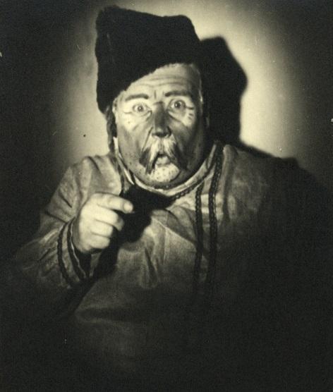 M. P. Musorgskij: Soročinský jarmok, Opera SND, 1932, Zdenko Ruth-Markov (Kmotor)