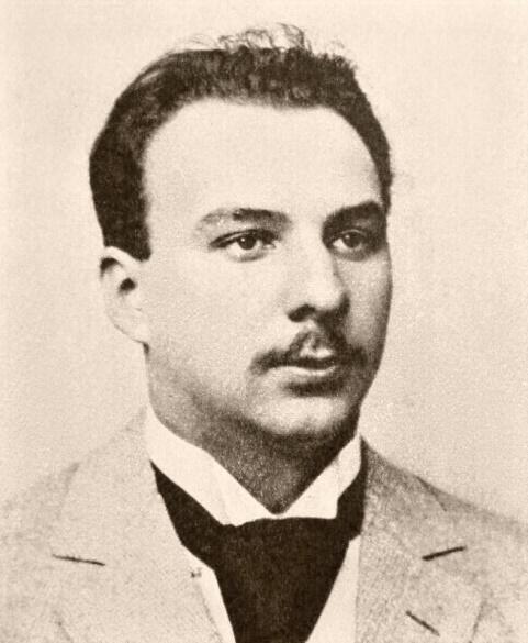 Oskar Nedbal, foto z mladosti