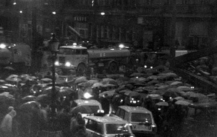 Sviečková manifestácia v Bratislave, 25. marec 1988