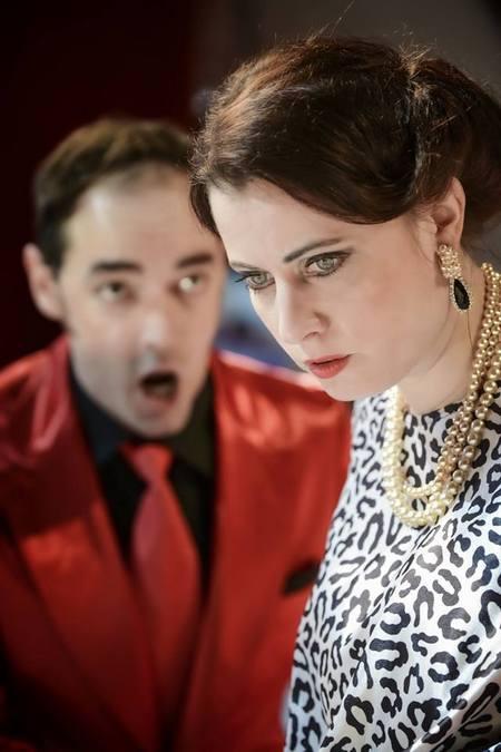 Thomas Adès: Powder Her Face, Opera ND Brno, 2016, foto: Marek Olbrzymek