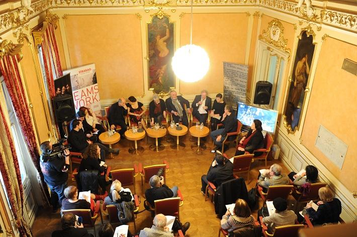 Tlačová konferencia k premiére opery Così fan tutte v Opere SND, 2016, foto: Alena Klenková/SND