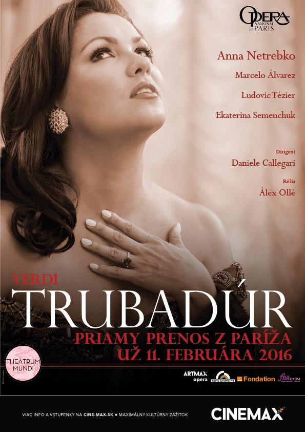 Trubadur, Opera Paris