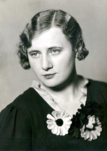 Věra Wasserbauerová-Strelcová, rod. Zachová, (1906 – 1981), foto: Archív ND Brno