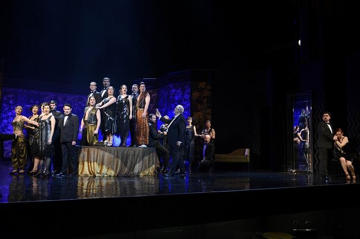 W. A. Mozart Così fan tutte, Opera SND, 2016, scéna, foto: Pavol Breiner