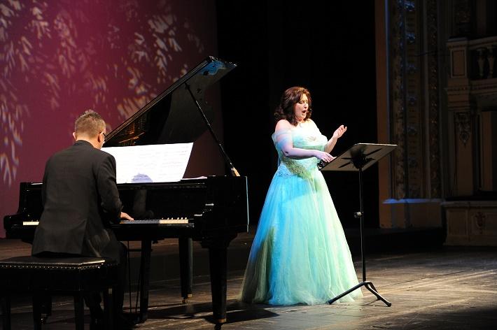 koncert Voci da camera, Opera SND, 2016, Róbert Pechanec, Adriana Kohútková, foto: Alena Klenková
