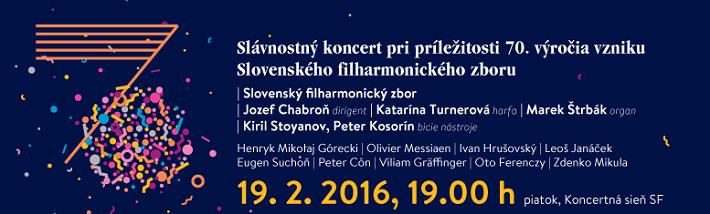 70. výročie vzniku Slovenského filharmonického zboru