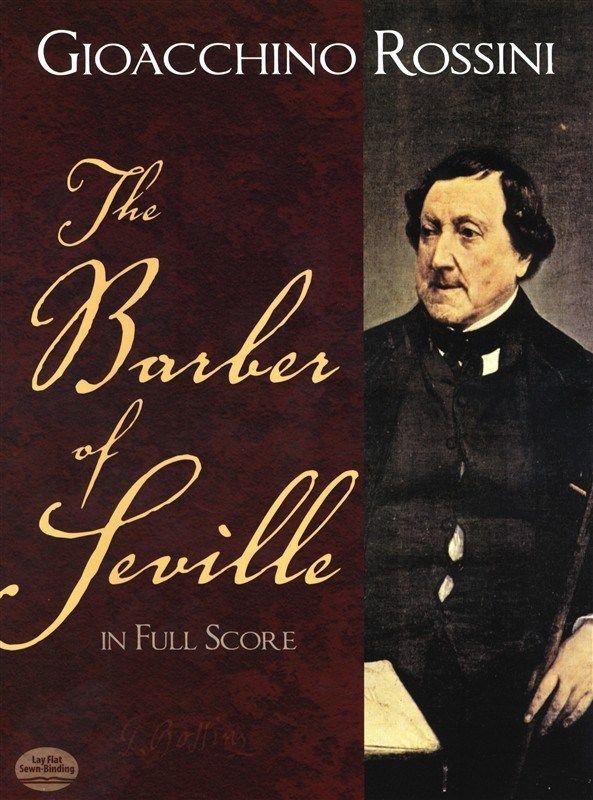 Barbier zo Sevilly, partitúra