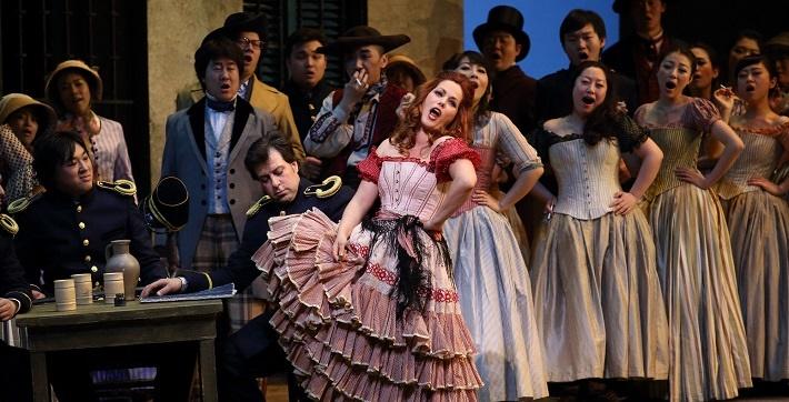 G. Bizet: Carmen, Veľká Národná Opera Peking, 2013, foto: Veľká Národná Opera Peking