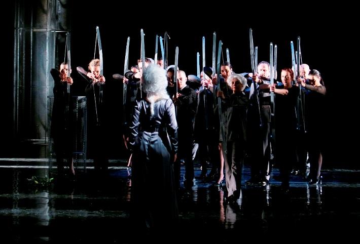 G. F. Händel: Alcina, Opera ŠD Košice, 2016, Zbor Opery Štátneho divadla Košice, foto: Joseph Marčinský