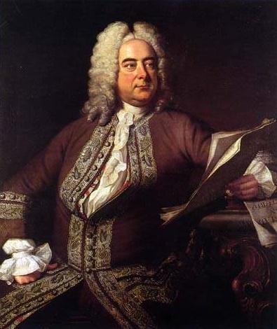 Georg Friedrich Händel, (1685 - 1759)