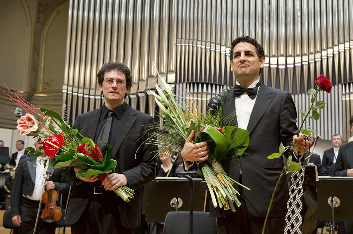 Koncert agentúry Kapos, 2016, Sebastiano Rolli, Juan Diego Flórez, Slovenská filharmónia, foto: ©PANER