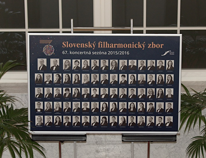 Koncert k 70. výročiu založenia Slovenského filharmonického zboru, 2016, foto: Ján Lukáš