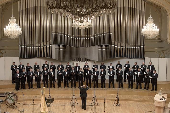 Koncert k 70. výročiu založenia Slovenského filharmonického zboru, 2016, Jozef Chabroň, Slovenský filharmonický zbor - muži, foto Ján Lukáš