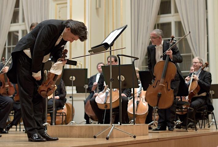 Koncert v Slovenskej filharmónii, 2016, René Kubelík, orchester SF, foto: Ján Lukáš