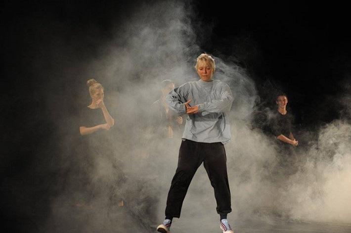 P. Breiner, N. Horečná: Slovenské tance - Životy svetiel, Balet SND, 2016, Natália Horečná, foto zo skúšky, foto: Peter Brenkus