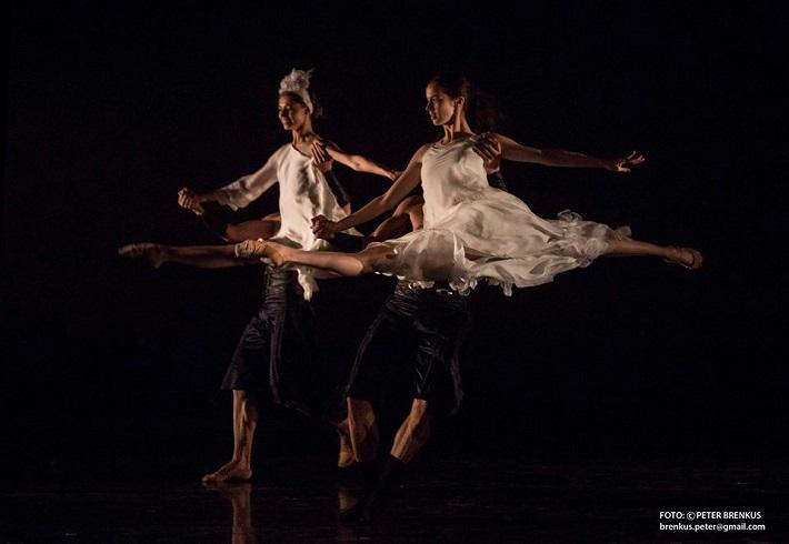P. Breiner, N. Horečná: Slovenské tance - Životy svetiel, Balet SND, 2016, foto: Peter Brenkus