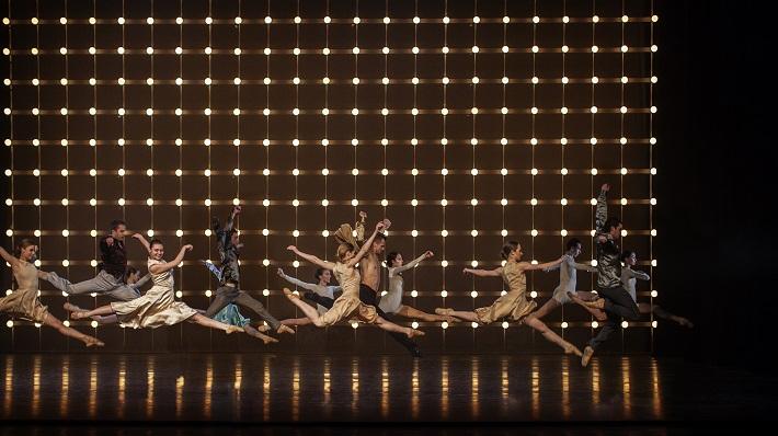 P. Breiner, N. Horečná: Slovenské tance - Životy svetiel, Balet SND, 2016, 2. dejstvo, foto: Peter Brenkus