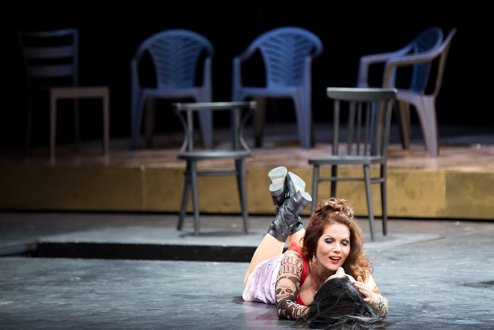 R. Strauss: Salome, Opera SND, 2014, Jolana Fogašová (Salome), foto: Jozef Barinka